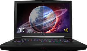 MSI GT75 TITAN- Gaming Laptop – Intel Core i9,16GB RAM