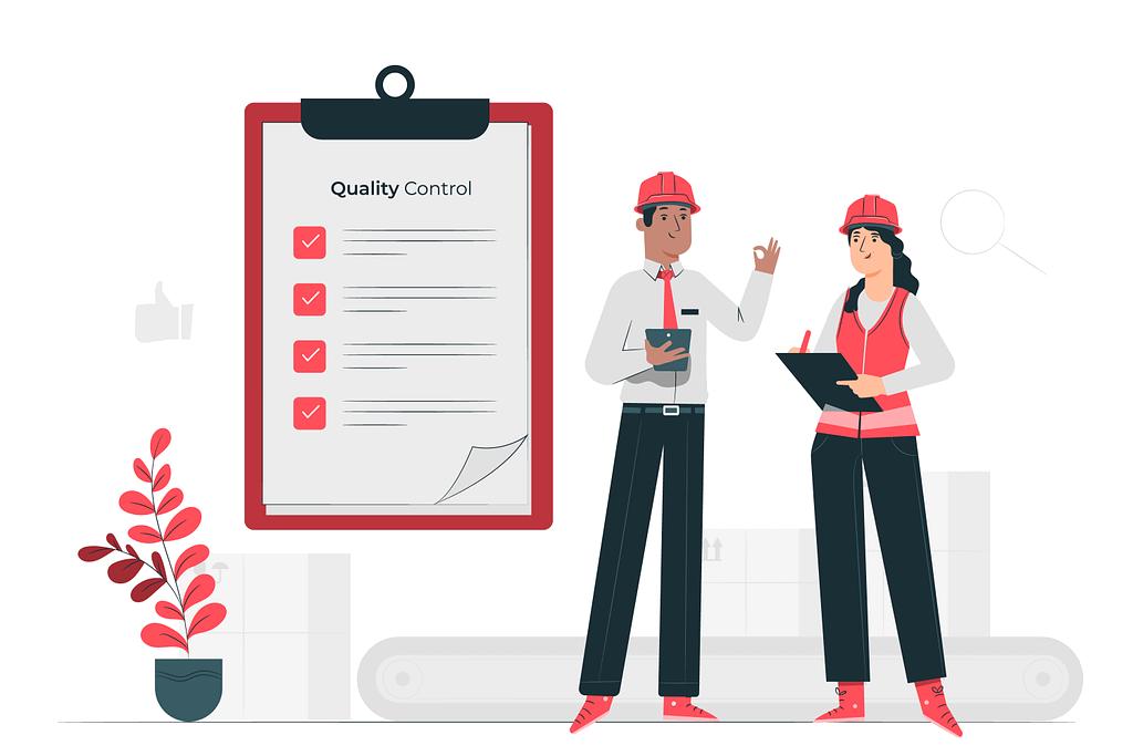 mobile app development services - quality assurance